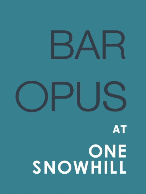 Bar Opus Birmingham - the city bar for delicious lunch and bar plates