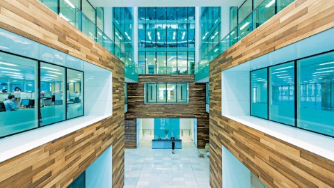 Prime office space Birmingham with stunning atrium